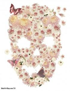 08-30-2013 - Ricardo Ferreira - skull flowers